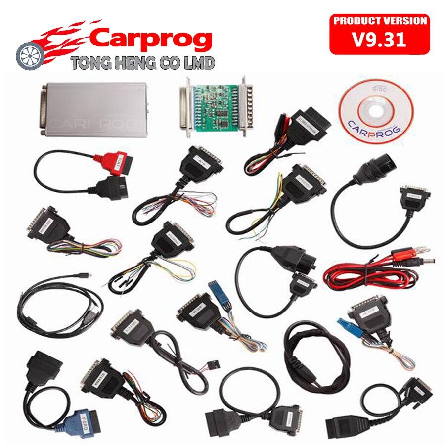 Цена за Multi-функции CARPROG Carprog V9.31 Универсальный приборной панели автомобиля, иммобилайзеры, подушки безопасности автомобиля электронный ремонт автоинструмент prog