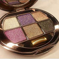 Beauty Cosmetics Eyeshadow Palette Makeup Palette six colors Dazzling diamond eye shadow free shipping S465