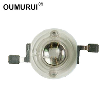 50pcs 3W ชิป LED UV High power ลูกปัด 365 375 380 395 400 410 420 430nm ซิลิโคน len ทนต่ออุณหภูมิสูงจัดส่งฟรี