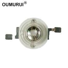 50pcs 3W circuito integrato del LED UV Ad Alta potenza di Luce perla 365 375 380 395 400 410 420 430nm Silicone len Ad Alta temperatura resist Spedizione gratuita