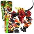 Bela hero factory ataque cerebral pyrox bloques de construcción modelo de acción 3d diy ladrillos juguetes compatibles con lego