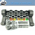 All metal kit for tank car chassis parts/tiger tank metal accessories,Metal tracks,Driver wheels and Bearing wheels