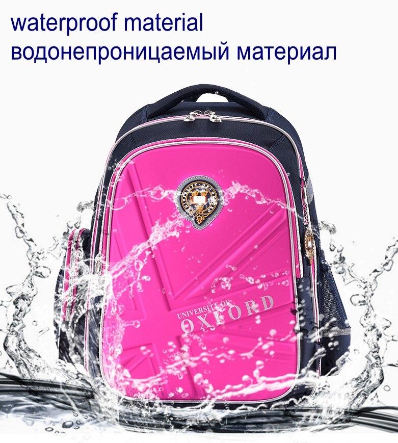 Hot Sale University Of Oxford Orthopedic School Bags Children Backpack Portfolio Rucksack For Teenagers Boys Girls #2