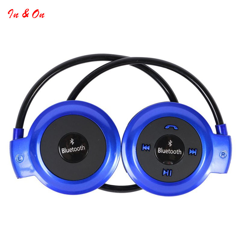 Mini 503 Neckband Sport Wireless Bluetooth Handsfree Stereo Headset Headphone Earphone for Mp3 Player for iphone 6/7 for Samsung remax t9 mini wireless bluetooth 4 1 earphone handsfree headset for iphone 7 samsung mobile phone driving car answer calls