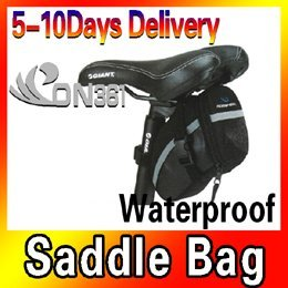 A brand-new, unused Portable Cycling Bicycle Bike Saddle Outdoor Pouch Back Seat Bag Waterproof