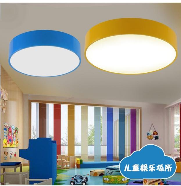 Modern Kids Lamp Room Lights Ceiling For Home Lighting Fixture Deco Living Lampe Study Kindergarten