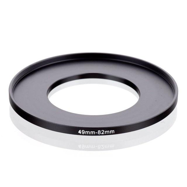 Elevação original (reino unido) 49mm 82mm 49 82mm 49 a 82 step up anel filtro adaptador preto