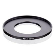 Oryginalny RISE (UK) 49mm 82mm 49 82mm 49 do 82 pierścień redukcyjny adapter do filtra czarny