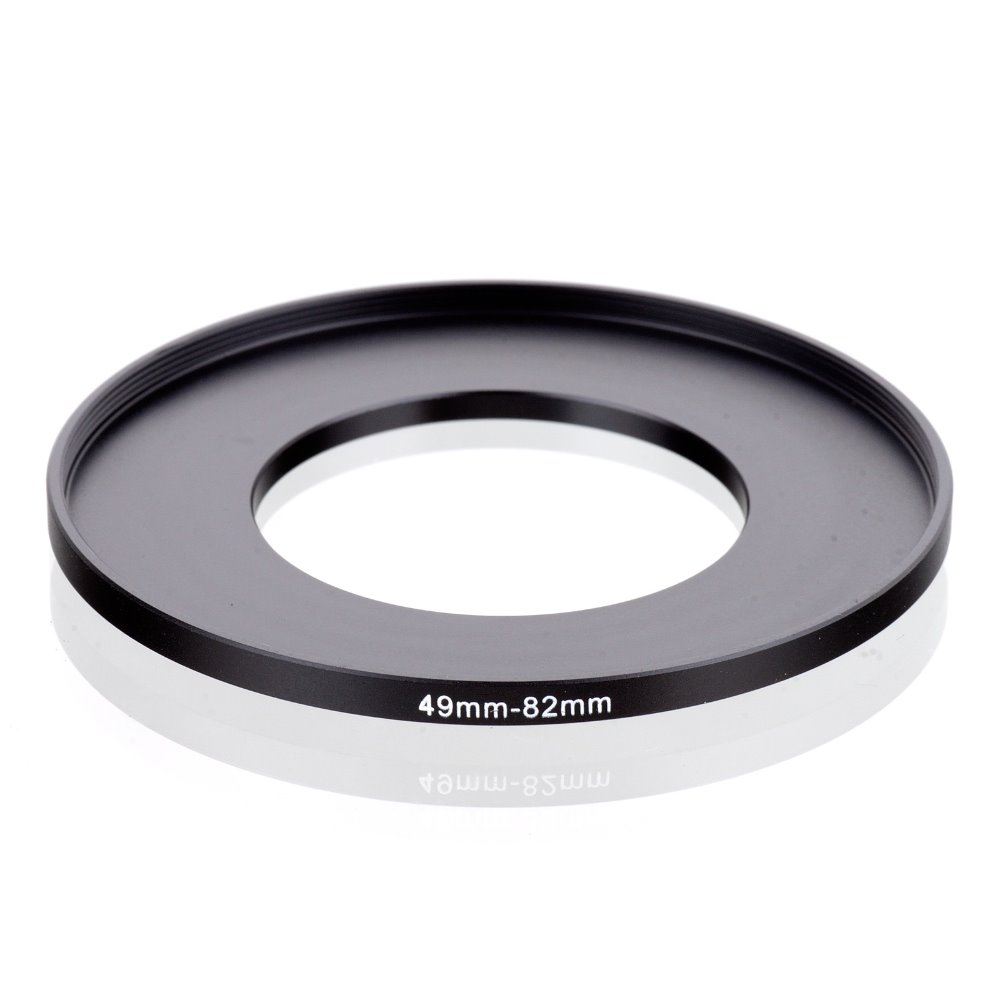 Original RISE(UK) 49mm-82mm 49-82mm 49 To 82 Step Up Ring Filter Adapter Black