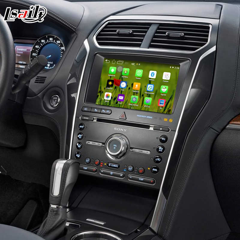 Android navigation box for Ford Taurus etc video interface box SONY SYNC 3  Carplay mirror link quad core waze youtube wifi GPS