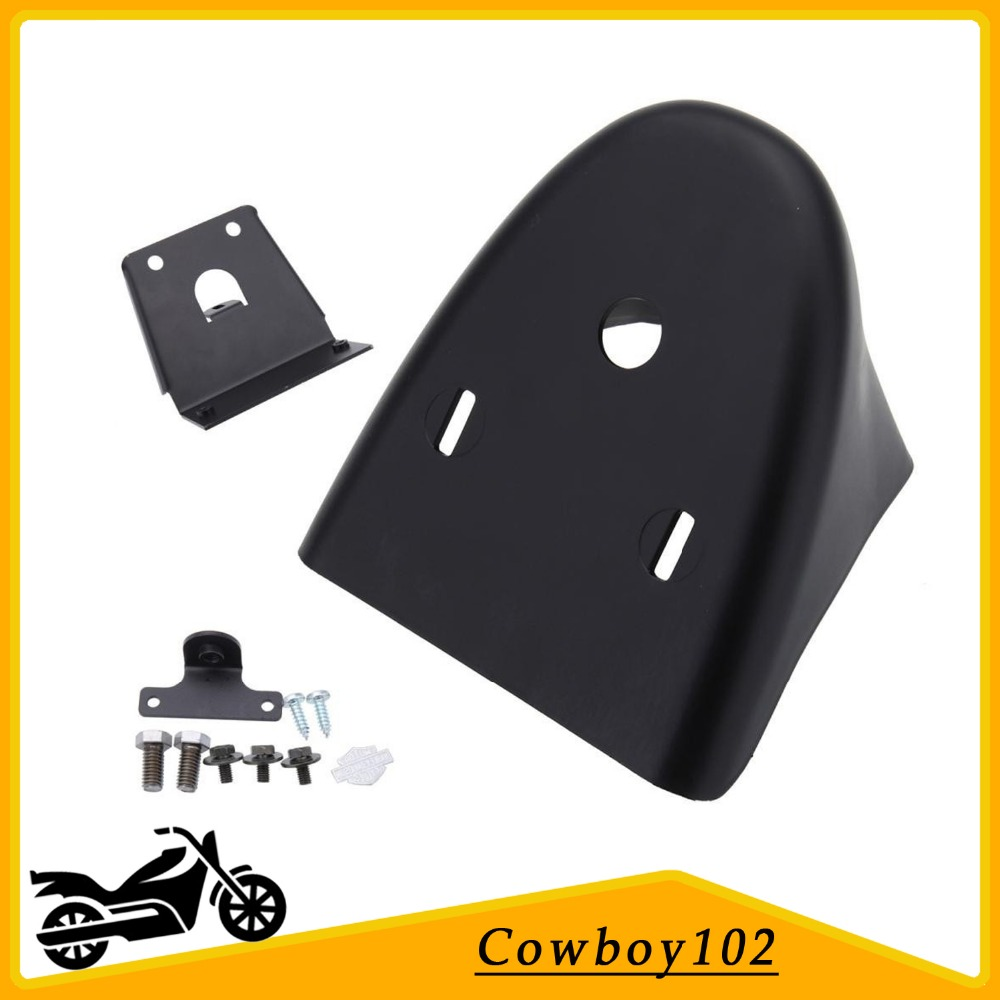 Gloss Black Chin Fairing Front Spoiler For Harley Davidson Sportster 883 XL1200 XL 1200 2004 - 2014 mtsooning timing cover and 1 derby cover for harley davidson xlh 883 sportster 1986 2004 xl 883 sportster custom 1998 2008 883l