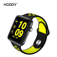 Origional XGODY DM09 Plus Smart Watch With Sim Card 2G Phone Call Smartwatch BT4 0 Pedometer