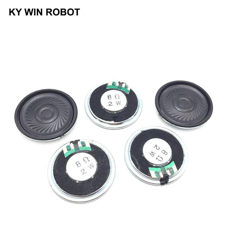 5pcs/lot New Ultra-thin Speaker 8 Ohms 2 Watt 2W 8R Speaker Diameter 36MM 3.6CM Thickness 5MM