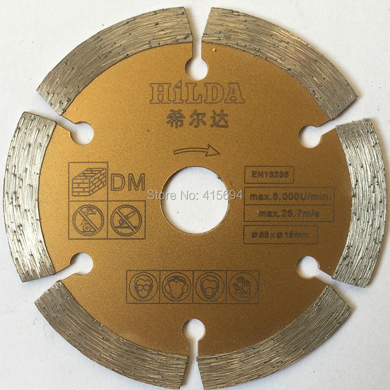 5pcs / lot, 85x2.0mm, multi lama di taglio del diamante della lama per sega di ricambio, disco di taglio del granito, lama di taglio di marmo. Trasporto libero!