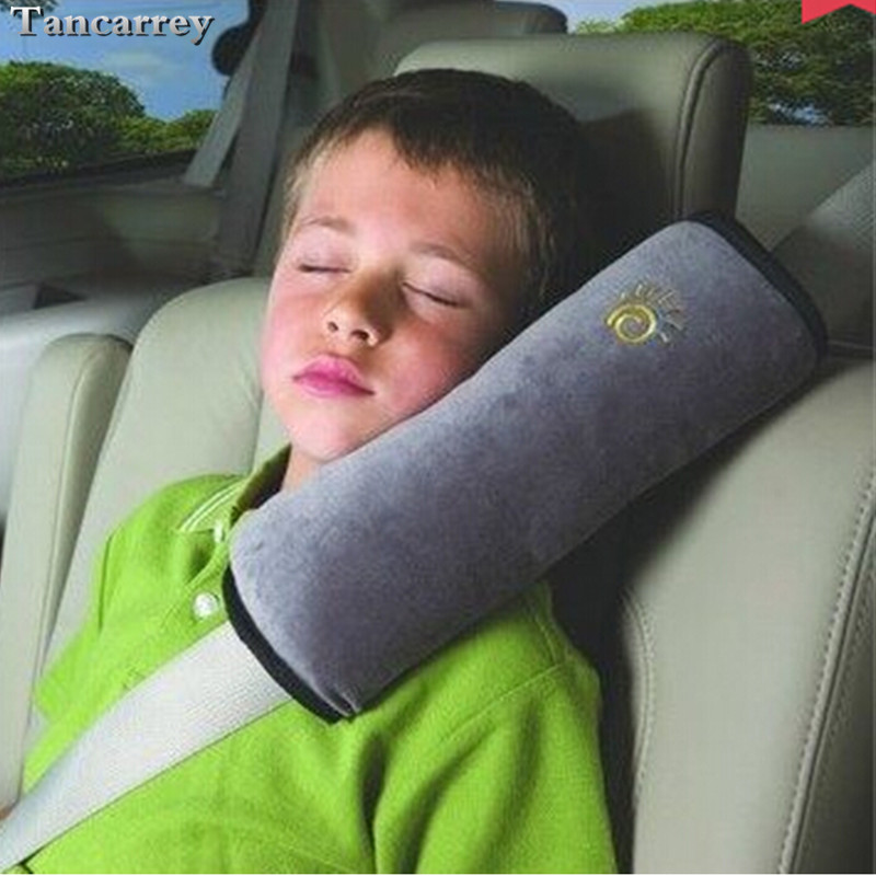 Car Safety Belt Shoulder Pad Cover FOR Peugeot 3008 Suzuki Dacia Duster Astra H Skoda Fabia Hyundai I30 W211 Solaris Renault