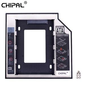 CHIPAL Universal 2nd HDD Caddy 12.7mm 9.5mm SATA 3.0 2.5