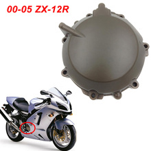 For 00-05 Kawasaki Ninja ZX12R ZX 12R Engine Stator Crank Case Cover Guard Protection Side Shield Protector 2000-2005