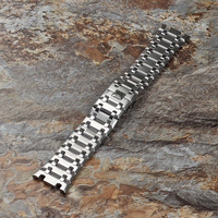 28mm Stainless Steel Watch Band for AP Watch Band Accessories men watch Piguet Royal Oak Butterfly Clasp Top Quality watchband