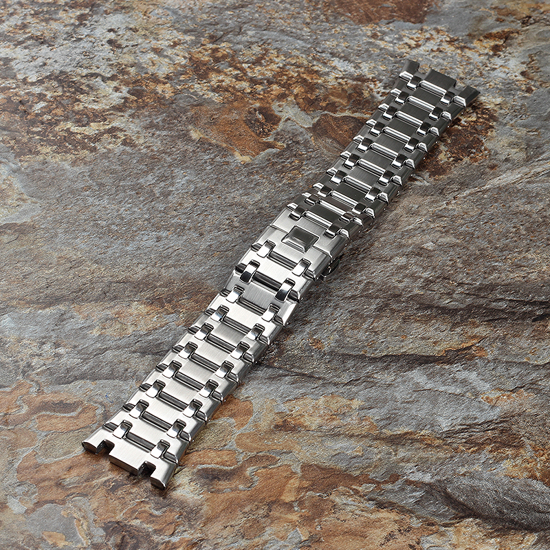 28mm Stainless Steel <font><b>Watch</b></font> <font><b>Band</b></font> for <font><b>AP</b></font> <font><b>Watch</b></font> <font><b>Band</b></font> Accessories men <font><b>watch</b></font> Piguet Royal Oak Butterfly Clasp Top Quality watchband image