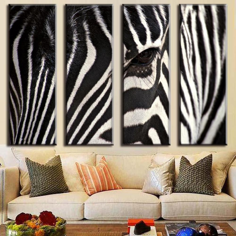 Zebra Living Room Decor Hd Zebra Promotion Shop For Promotional Hd Zebra On Aliexpresscom
