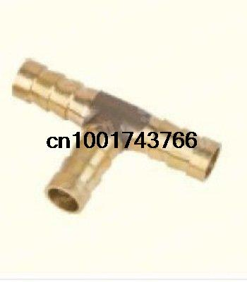 5pcs 3 ways OD12 BSP Tee House Barbed Connection Pipe Brass Coupler Adapter  15pcs lot 3 ways 10mm bsp tee hose barbed connection pipe brass coupler adapter brand new