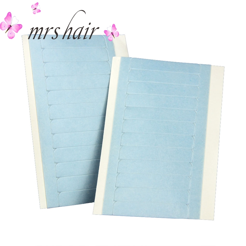 Blue Lace Frontal Tape Adhesives For Tape Hair Extensions Replacement Tape 2pcs 50pcs 100pcs Closure Adhesives Double Sided