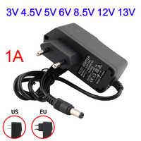 5 V Netzteil Adapter Ladegerät Universal-US EU Adapter Stecker DC 3/4. 5/5/6/8,5/12/13 V 1A Power Adapter Für Led Streifen Licht Lampe
