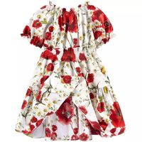Children S Clothing Summer Girl S Cotton Dress Princess Dress