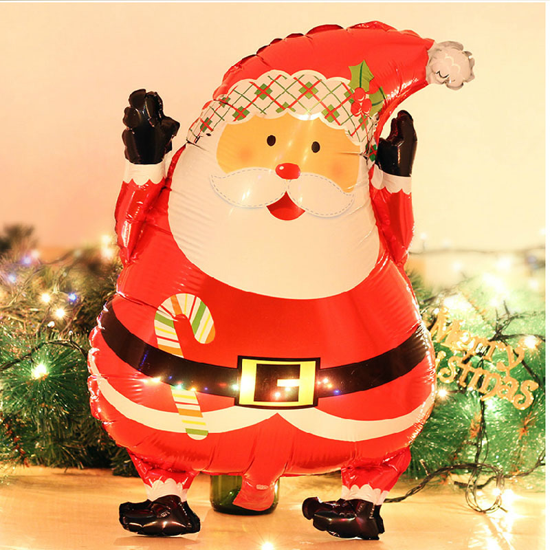 1pcs Merry Christmas Day Balloons Party Decoration Kids Toys Gifts