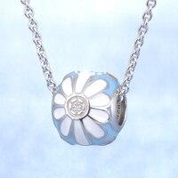 2018 Mùa Hè thiết kế thời trang đẹp flower 925 sterling silver bạc vòng cổ handmade.