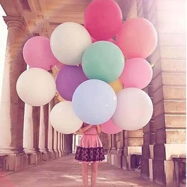 10 Stks Partij 18 Giant Latex Ballonnen Hartvormige Helium Ballon