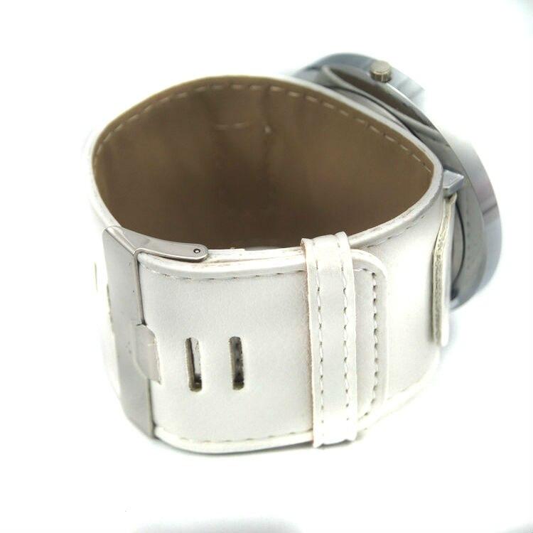 Высококачественные Женские брендовые модные большие часы 8 цветов с кожаным ремешком, военные кварцевые наручные часы с большим круглым циферблатом для женщин и мужчин