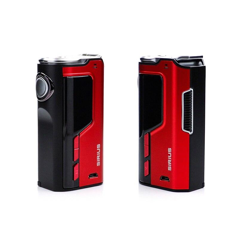 Perdue d'origine Vaporisateur Modefined Sirius 200 W Boîte Mod électronique cigarett batterie PK ijoy diamant fit geekvape ammit sirène pharaon