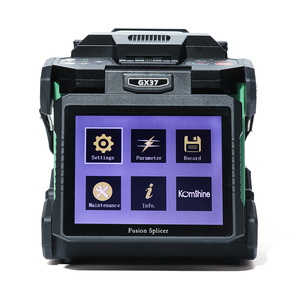 Image 4 - Komshine newest GX37 optic fiber fusion splicer  with one pair electrodes and KF 52 high precision optic fiber cleaver