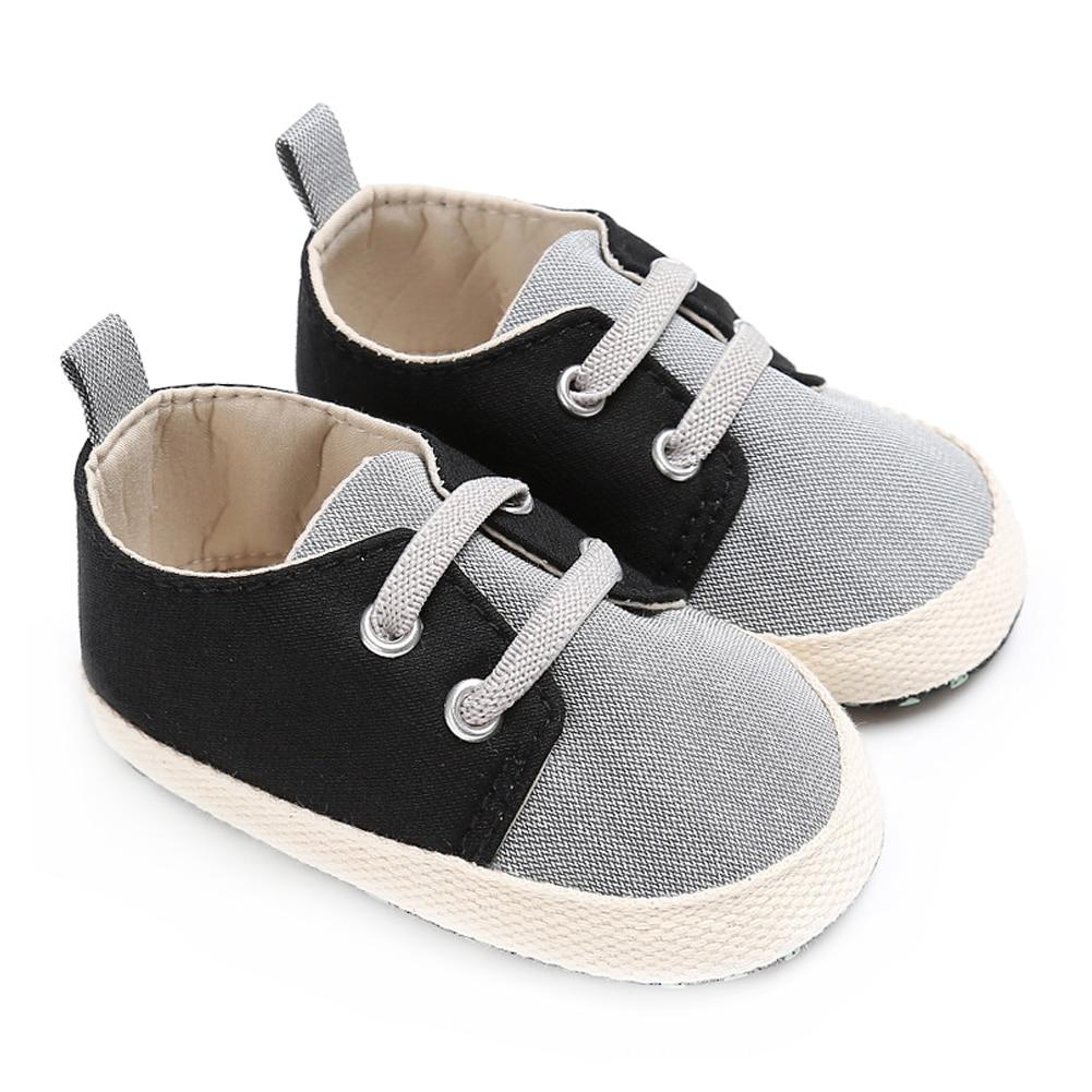 Merk Baby Boy Wieg Schoenen voor Meisjes Elastische Band Pasgeboren - Baby schoentjes - Foto 5