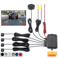 Dual Core CPU Car Video Parking Sensor Reverse Backup Radar Assistance, Auto parking Monitor Digital Display and Step-up Alarm