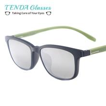 Women TR90  Small Oval Fashion Glasses With Clip On  Men Colourful Magnetic Prescription Sunglasses For Myopia  Lens
