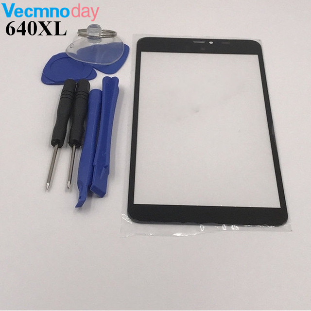 Vecmnoday 5.7'' Replacement LCD Front Touch Screen Outer Glass Lens For Nokia Lumia 640XL 640 XL + Tools Set + Free Shipping