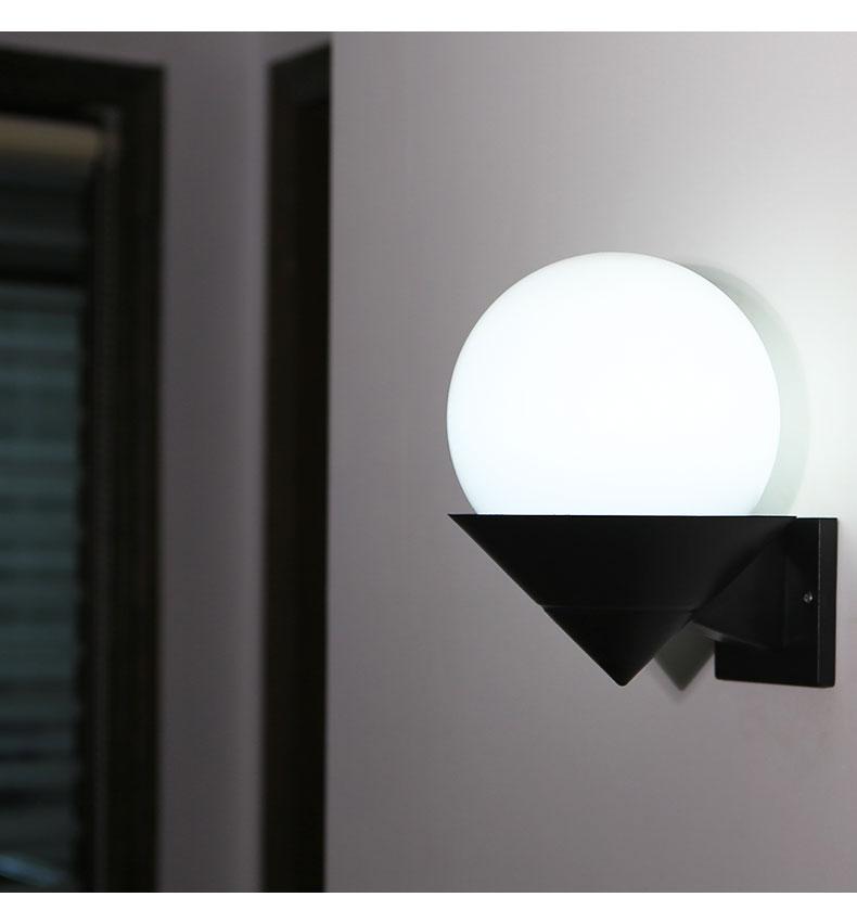 acrylic sun shade single head wall lights Attic wall lamps bedroom stairs corridor bathroom terrace creative FG765