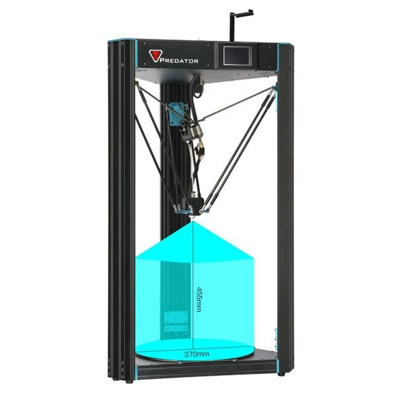 ANYCUBIC 3D PrinterPredator 370mm 455mm Large Plus Size Full Metal TFT Screen 3d Printer High Precision