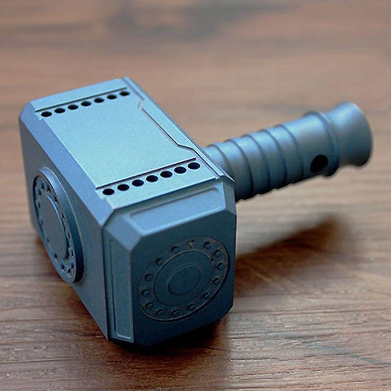 Лидер продаж! Открытый Отдых TC21 Титан сплава негабаритных большой молот Тора ключ кулон EDC играть штук украшения аксессуары инструменты
