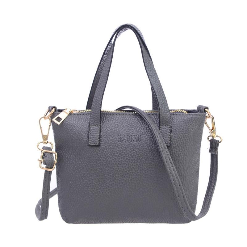 Fashion New Women Bag 2017 Leather Bag large Ladies Handbag Females Shoulder Bag Designer Brands Tote bag Bolsas Feminina