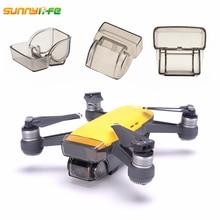 Sunnylife DJI спереди 3D Сенсор Системы Экран Защитная крышка царапинам Камера объектив Защитный чехол Кепки для DJI SPARK Drone