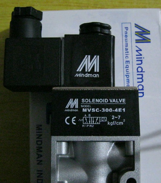 ФОТО new 100% MINDMAN Solenoid Valve MVSC-300-4E1 coil AC220V in box wholesale and retail