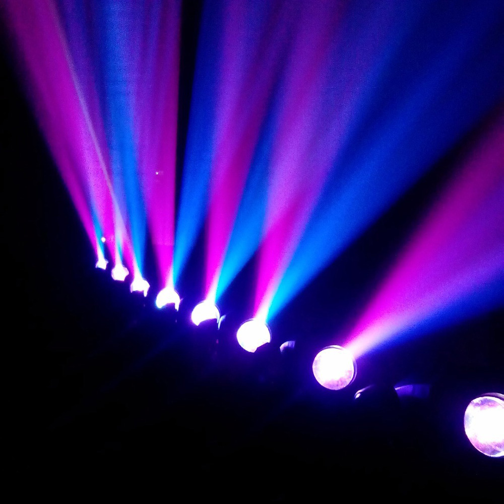 HOT Eyourlife LED Inno Pocket Spot Mini Moving Head Light 10W DMX Dj 8 Gobos Effect In Stage Lighting From Lights On Aliexpress