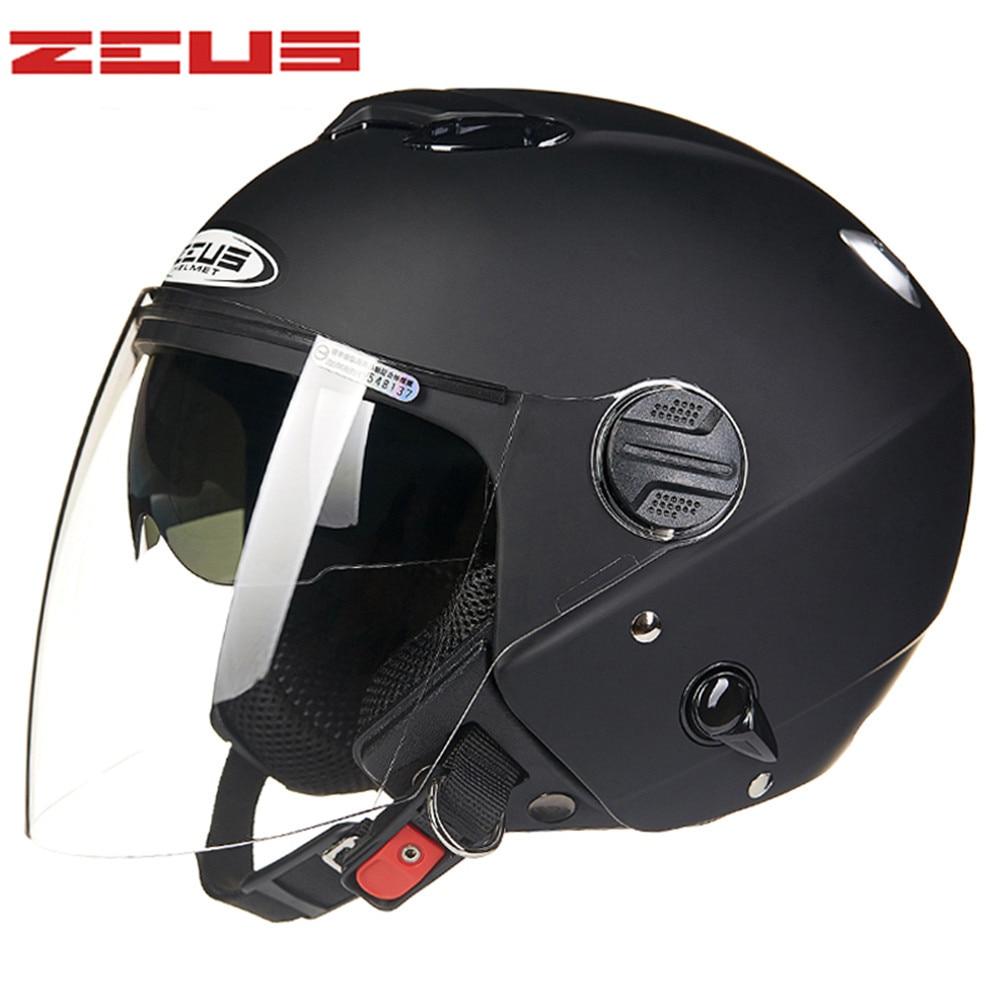 Open Face Motorcycle Helmet Scooter Capacetes aberto de Motociclista Moto Helmets for Motorcycle Helmets ZS202FB Dual Visors original 26mm mikuni carburetor for cbt125 cb125t cbt250 ca250 carburador de moto