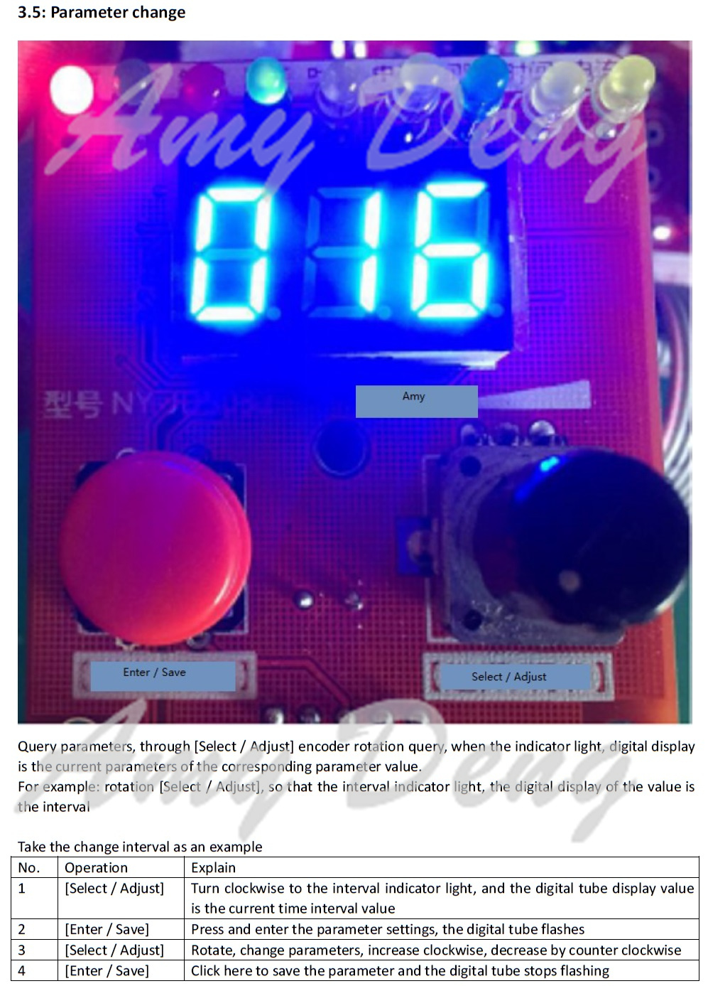 Double Pulse Encoder Spot Welding Current Time Control Panel Mcu Controlled Welder 5