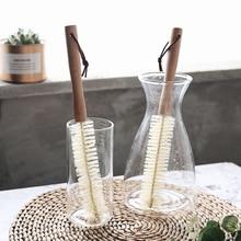 Copo de madeira caneca escova de limpeza lidar com pratos garrafa pan pot escovas de lavagem multifuncional cozinha limpeza acessórios ferramentas