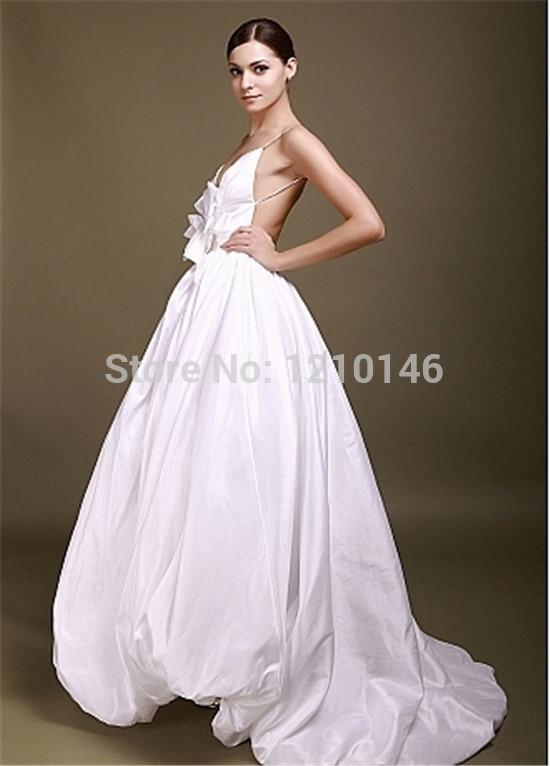 Cotton Wedding Dress Girls Dresses Vintage Inspired Short Brides ...