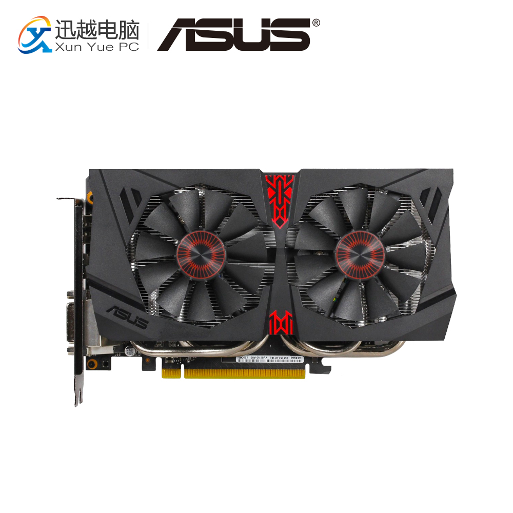 ASUS GTX 960-DC2OC-2GD5 Original Graphics Cards 128 Bit GTX 960 GDDR5 Video Card DVI HDMI DP For Nvidia geforce GTX 960 цены онлайн